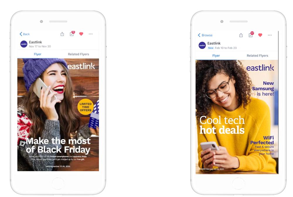 Eastlink mobile content