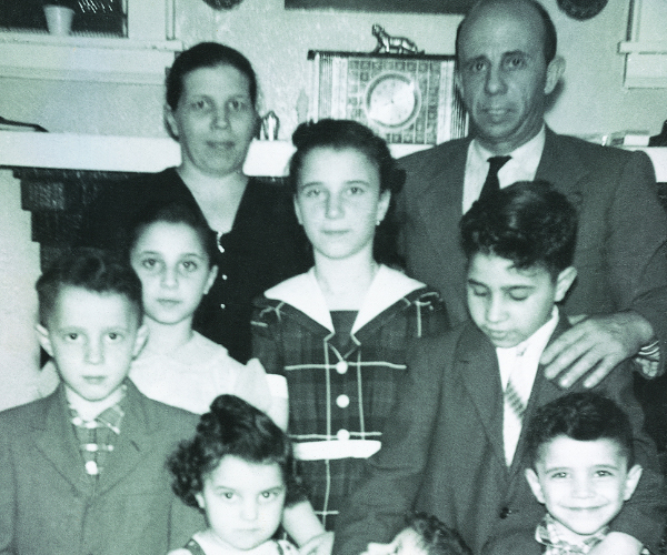 Gaetano and Giuseppina Gagliano and their young family