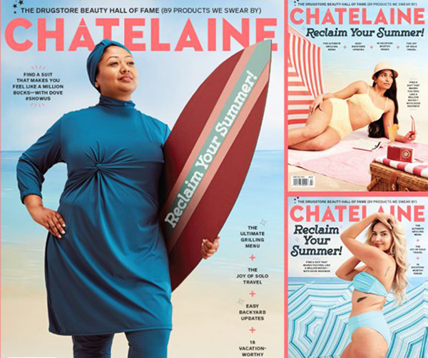 Chatelaine June July 2019 cover