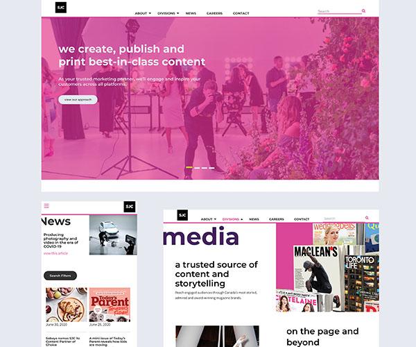 Website launch graphic