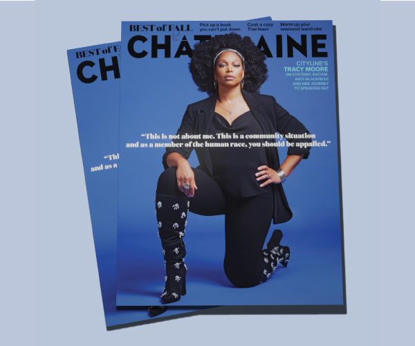 Chatelaine Sept/Oct 2020 Tracy Moore