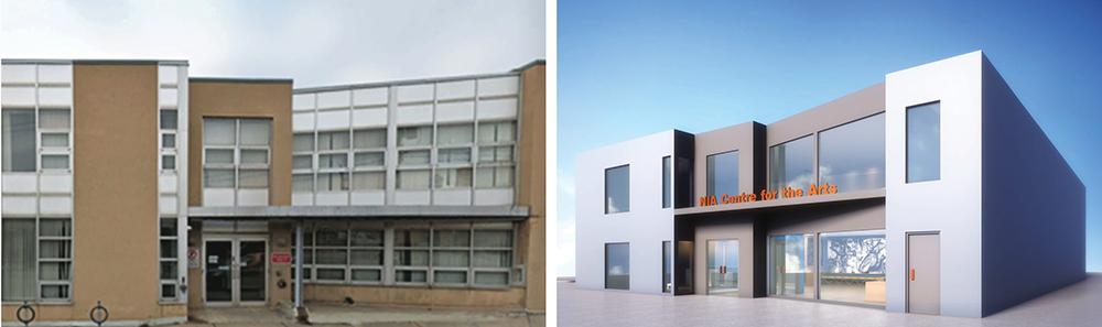 Nia renovated building