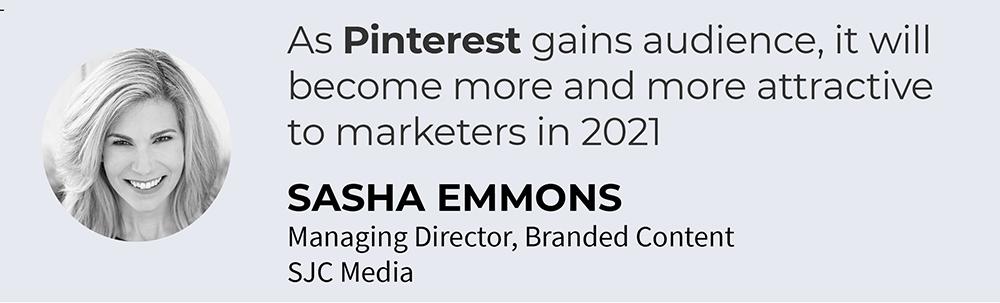 2021 media and marketing trend Sasha Emmons
