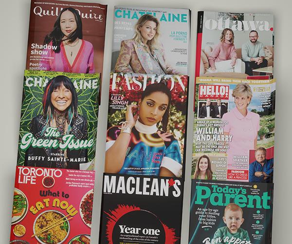 SJC Media magazine covers