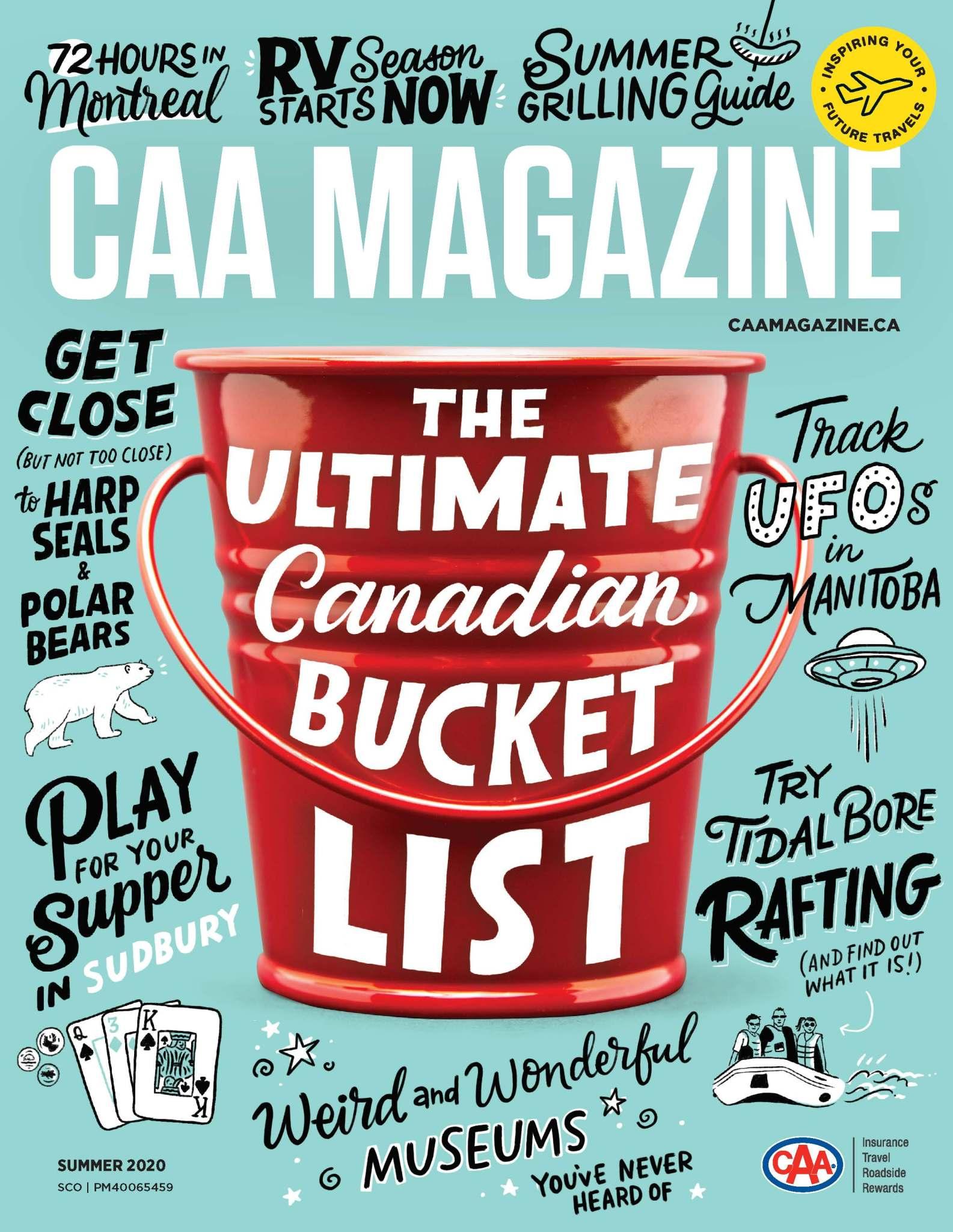 CAA Magazine Best Cover
