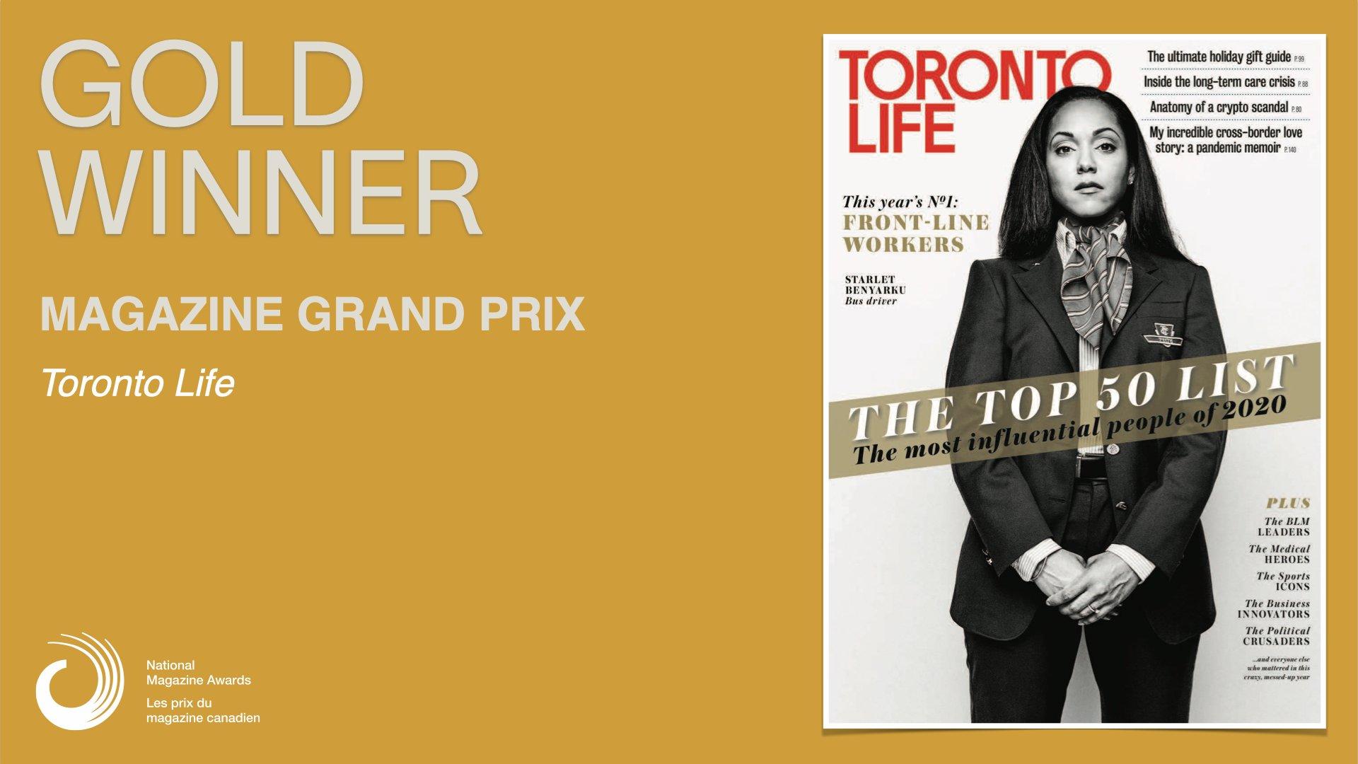 Toronto Life Magazine Grand Prix