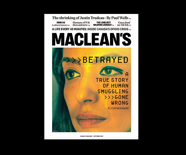 hero image for press release re Maclean's redesign in September 2021 issue