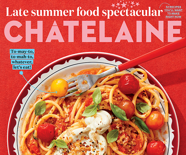 cover of Chatelaine to go with executive editor job description