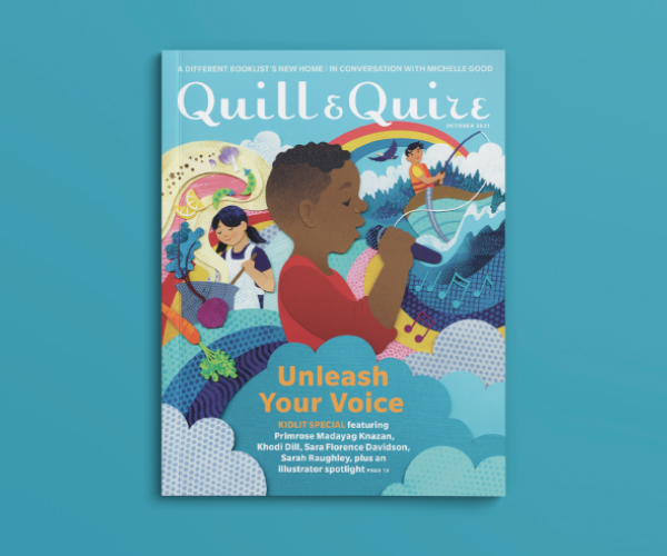 Cover of the Quill & Quire October 2021